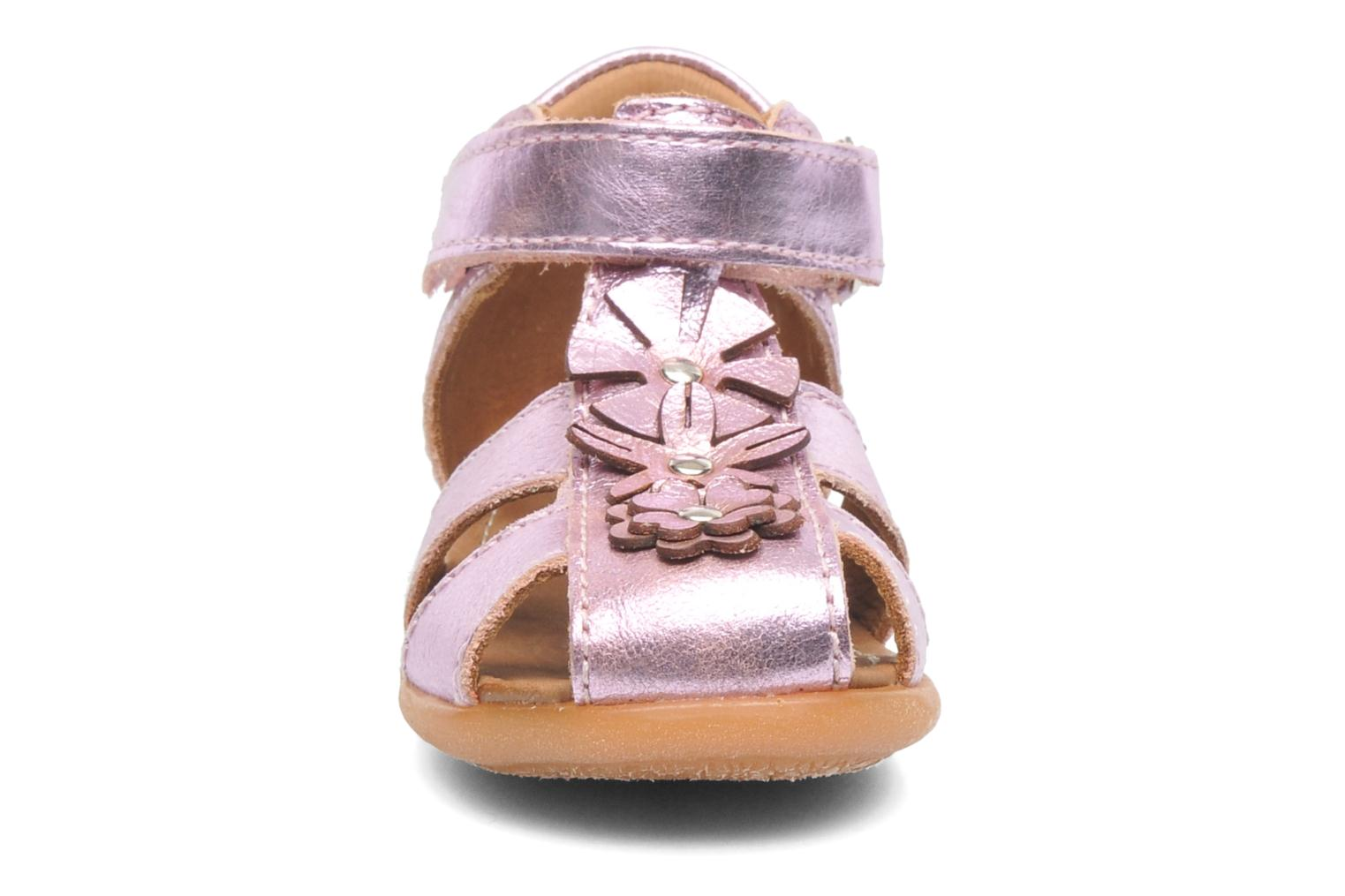 Sandals Bisgaard Kirsten Pink model view
