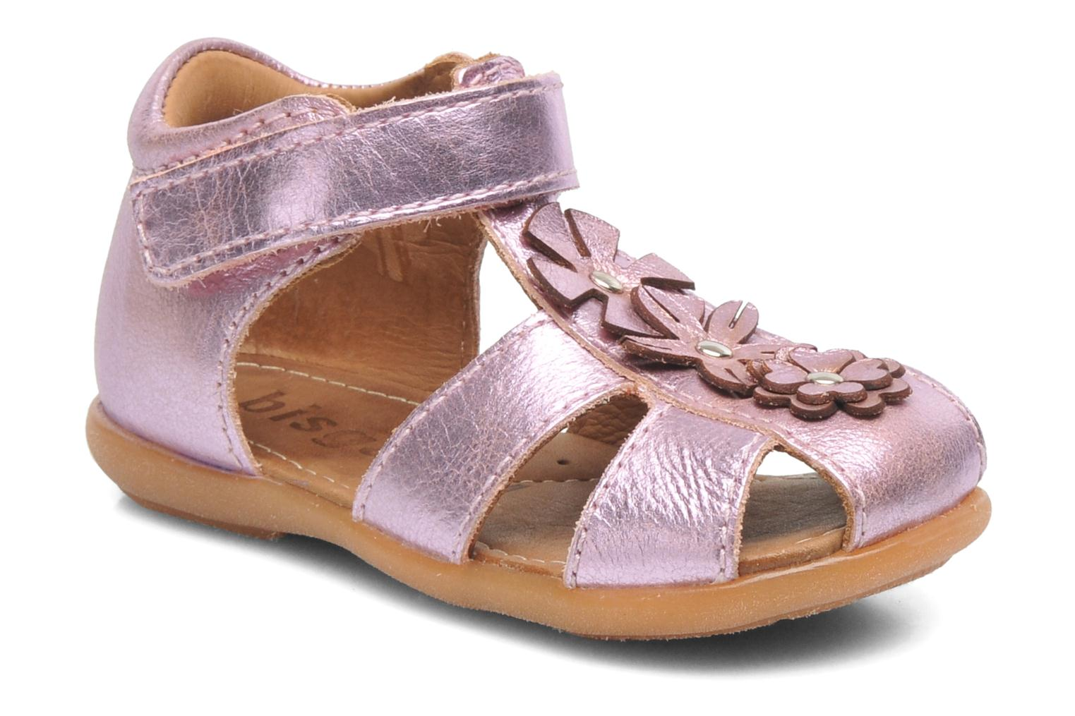 Sandals Bisgaard Kirsten Pink detailed view/ Pair view
