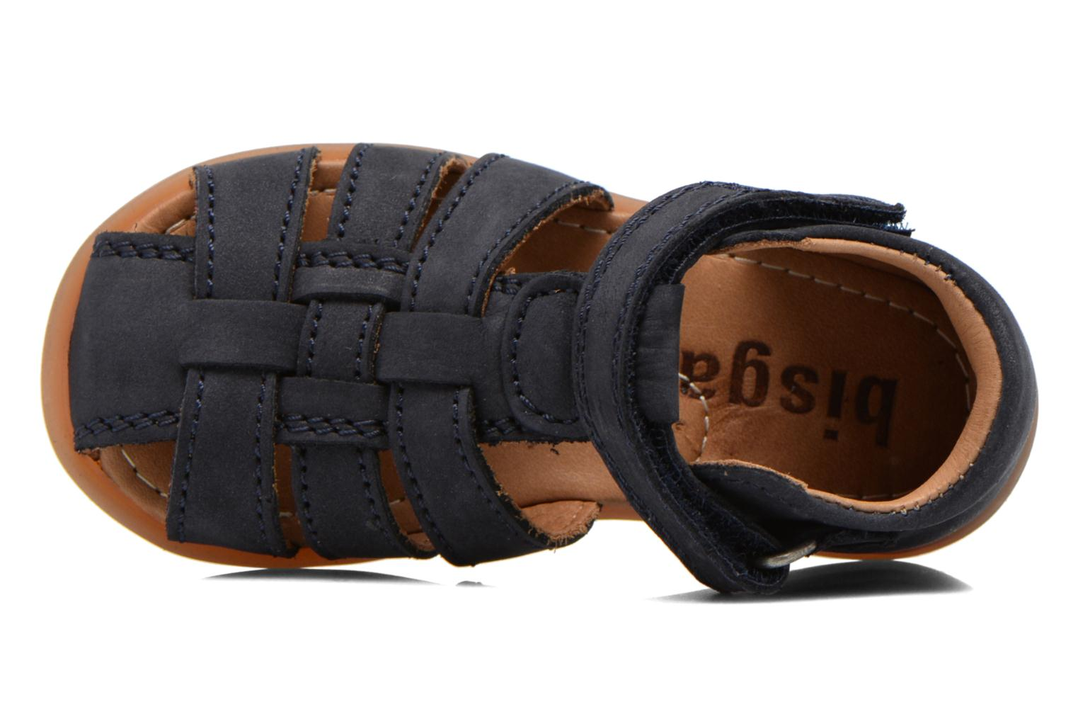 Sandals Bisgaard Birthe Blue view from the left