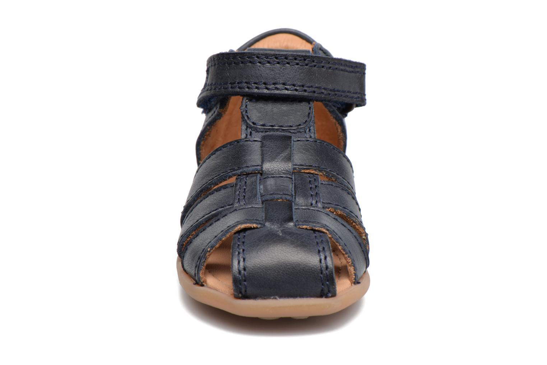 Sandalen Bisgaard Birthe blau schuhe getragen