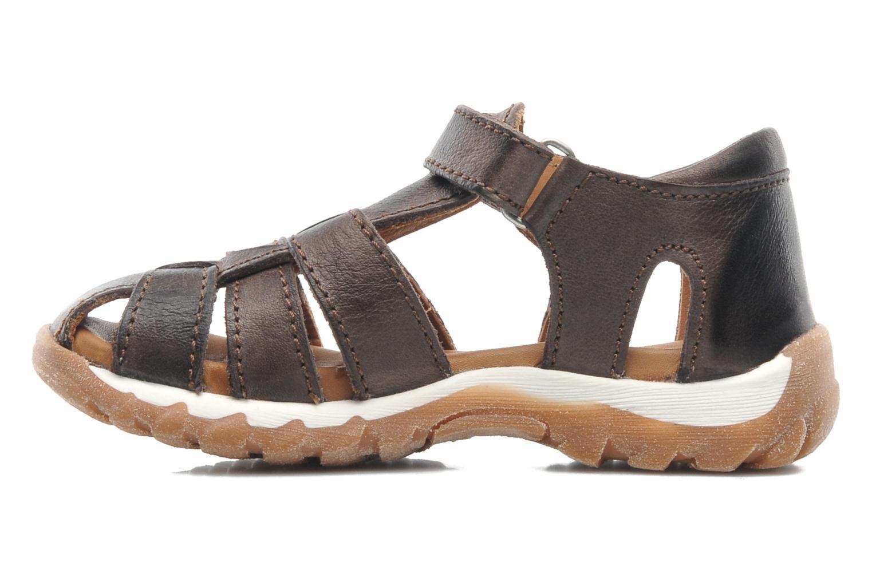 Sandales et nu-pieds Bisgaard Karen Marron vue face