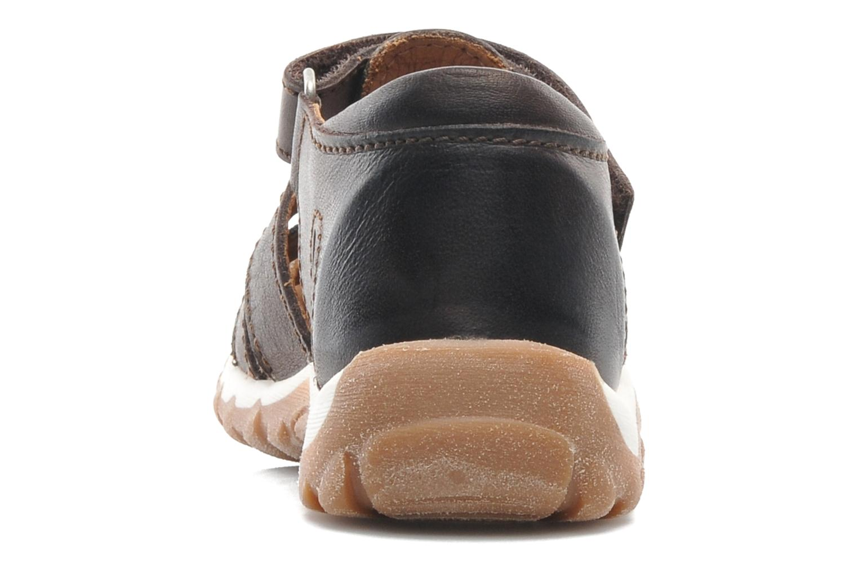 Sandales et nu-pieds Bisgaard Karen Marron vue droite