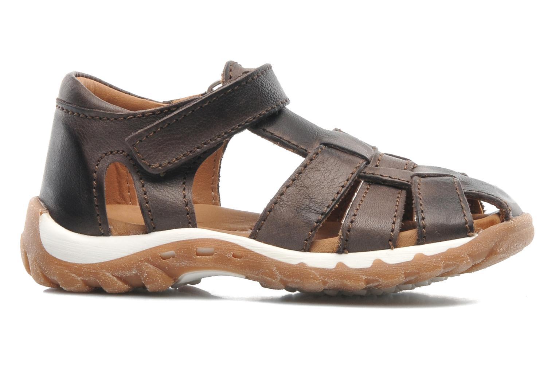 Sandales et nu-pieds Bisgaard Karen Marron vue derrière
