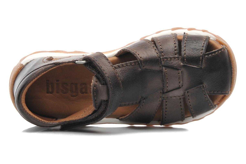 Sandales et nu-pieds Bisgaard Karen Marron vue gauche