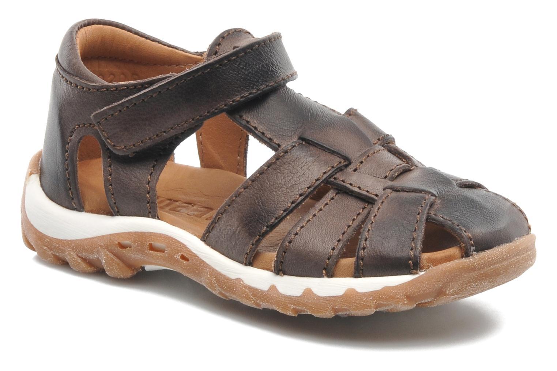 Sandales et nu-pieds Bisgaard Karen Marron vue détail/paire
