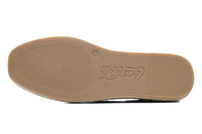 Espadrilles Coca-cola shoes Juta Retro Zwart boven