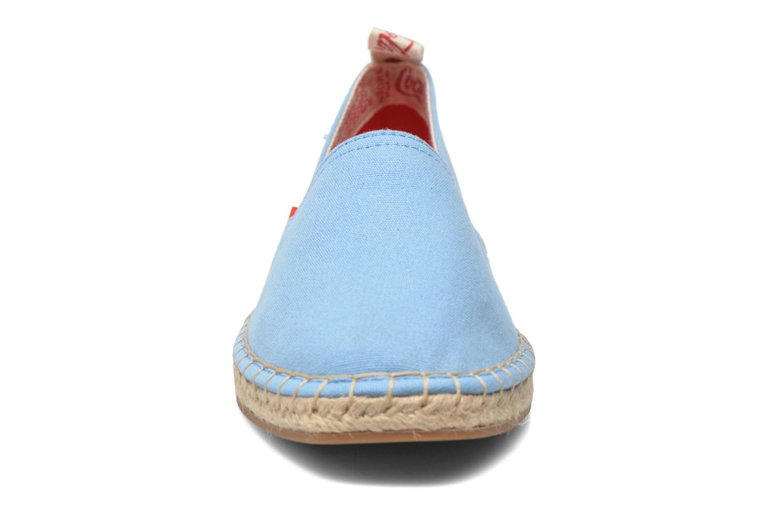 Espadrilles Coca-cola shoes Juta Classic W Blue model view