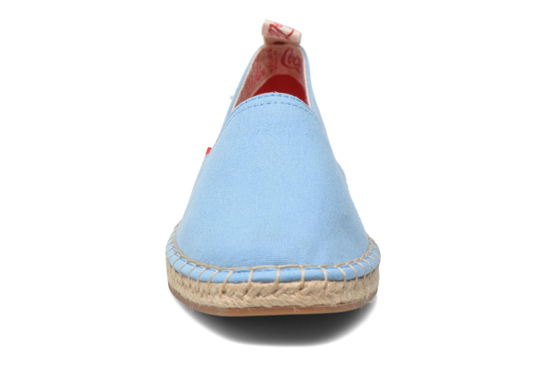 Espadrilles Coca-cola shoes Juta Classic W Blue model view