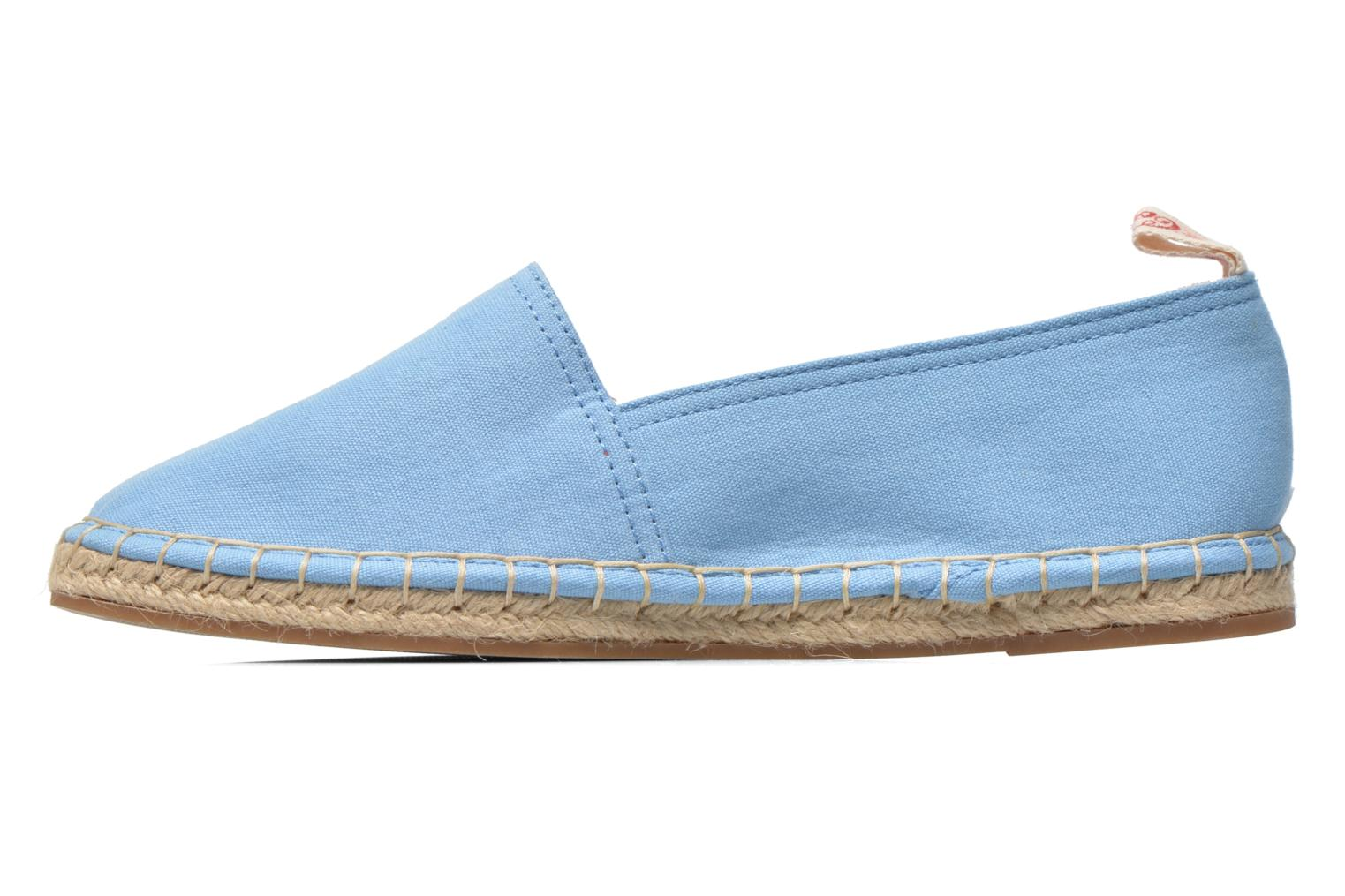 Espadrilles Coca-cola shoes Juta Classic W Blue front view