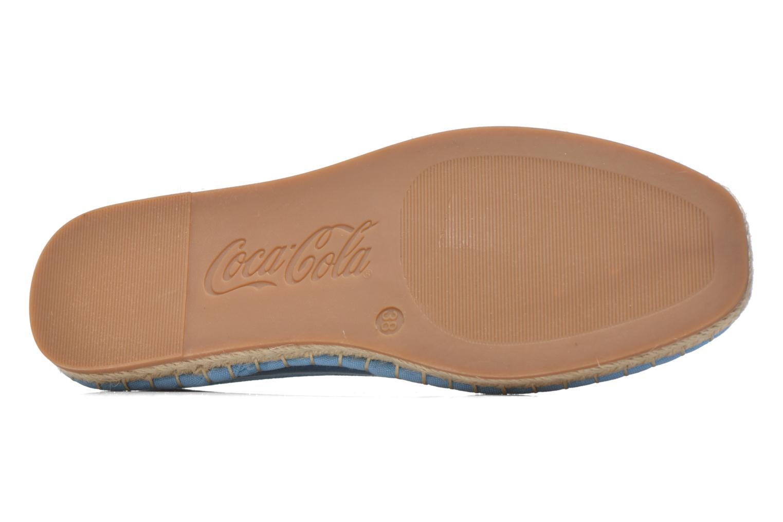 Scarpe di corda Coca-cola shoes Juta Classic W Azzurro immagine dall'alto