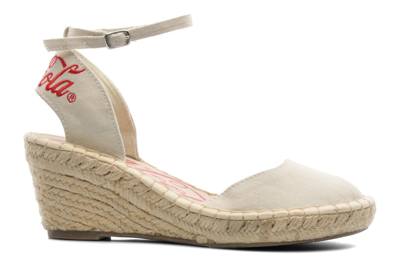 Sandals Coca-cola shoes Juta City Beige back view