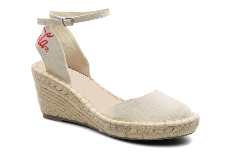 Sandals Coca-cola shoes Juta City Beige detailed view/ Pair view