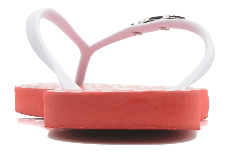 Flip flops & klipklapper Coca-cola shoes Dots Rød Se fra højre