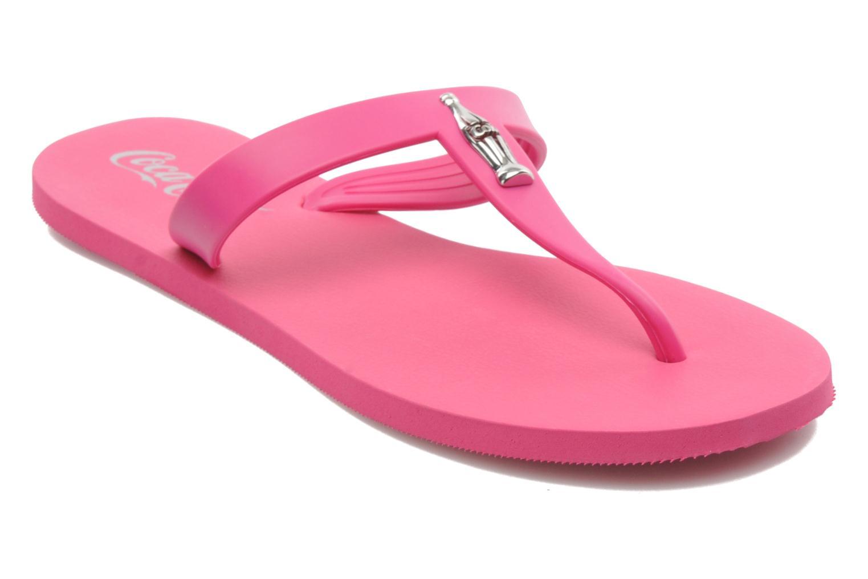 Flip flops & klipklapper Coca-cola shoes Fashion Bottle Pink detaljeret billede af skoene