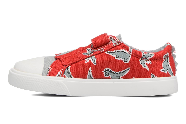 Sneakers Clarks Tricer Roar Rød se forfra