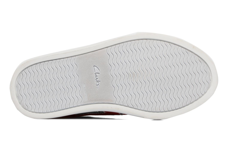 Sneakers Clarks Tricer Roar Rød se foroven