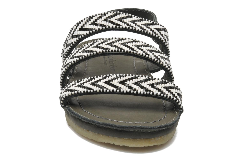 Sandales et nu-pieds Laidback London Gatsby Noir vue portées chaussures