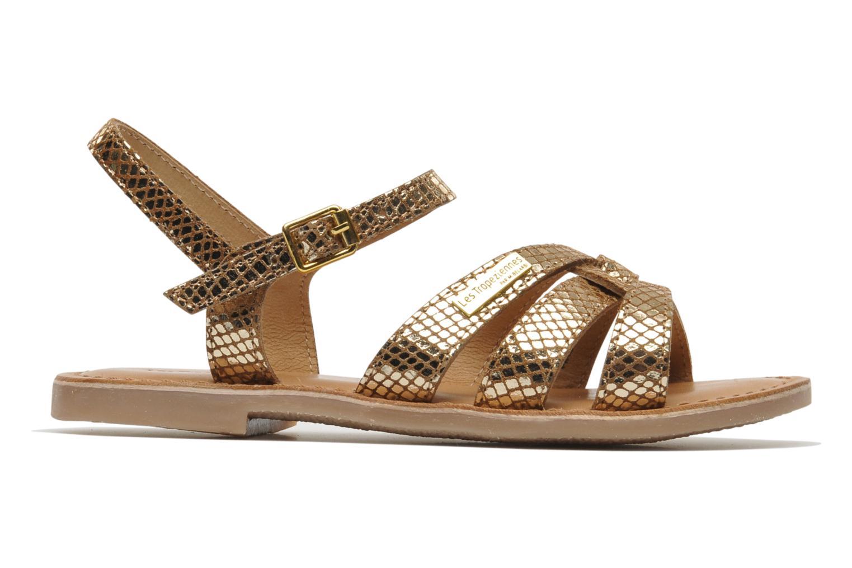 Sandals Les Tropéziennes par M Belarbi Betise Bronze and Gold back view