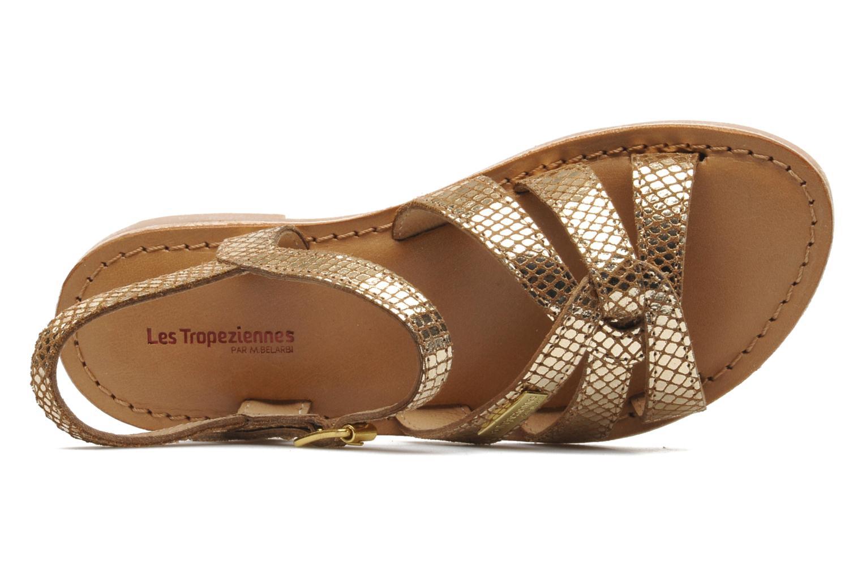 Sandaler Les Tropéziennes par M Belarbi Betise Bronze och Guld bild från vänster sidan