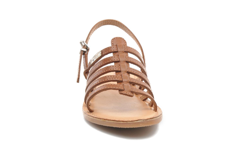 Sandali e scarpe aperte Les Tropéziennes par M Belarbi Mangue Marrone modello indossato