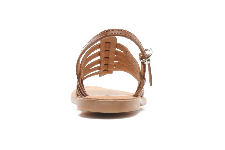 Sandali e scarpe aperte Les Tropéziennes par M Belarbi Mangue Marrone immagine destra