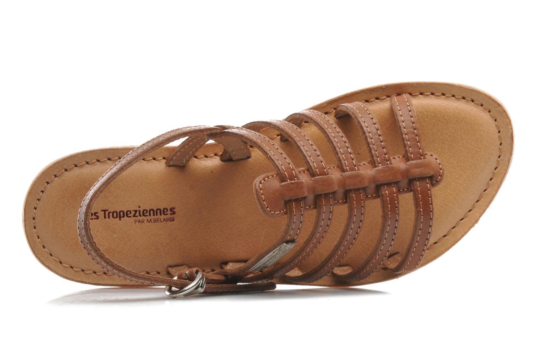 Sandali e scarpe aperte Les Tropéziennes par M Belarbi Mangue Marrone immagine sinistra