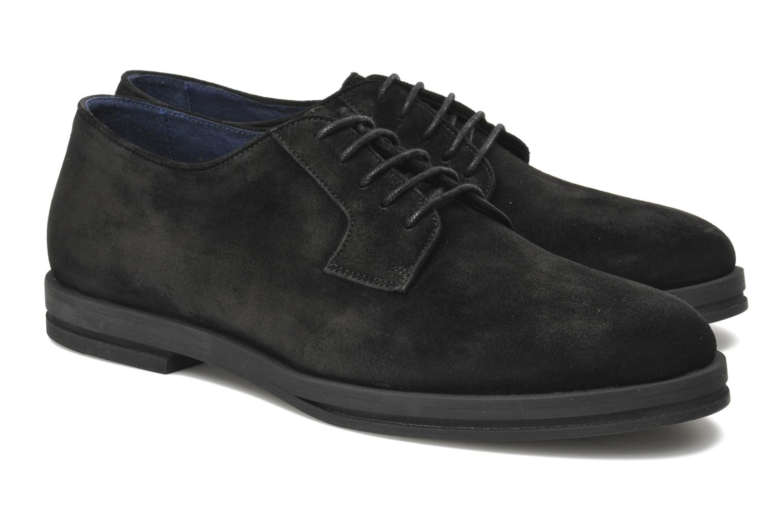 Chaussures à lacets Opening Ceremony Alexi lace up oxford Noir vue 3/4