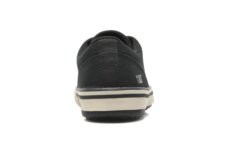 Sneakers Caterpillar Esteem canvas Zwart rechts