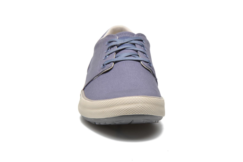 Baskets Caterpillar Esteem canvas Bleu vue portées chaussures