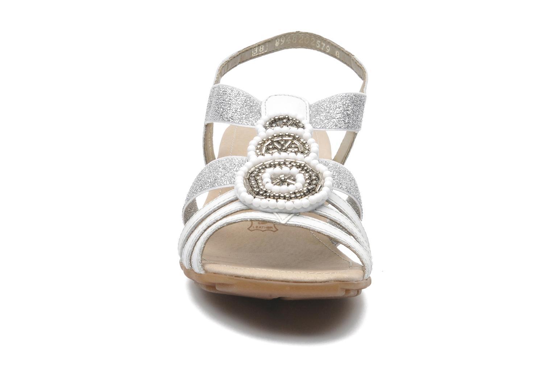 Sandales et nu-pieds Remonte Yolo R5250 Blanc vue portées chaussures