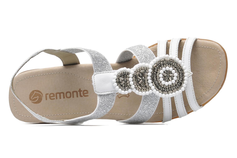 Sandales et nu-pieds Remonte Yolo R5250 Blanc vue gauche