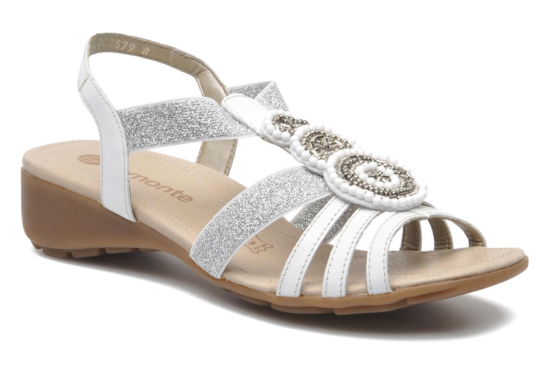 Sandales et nu-pieds Remonte Yolo R5250 Blanc vue détail/paire