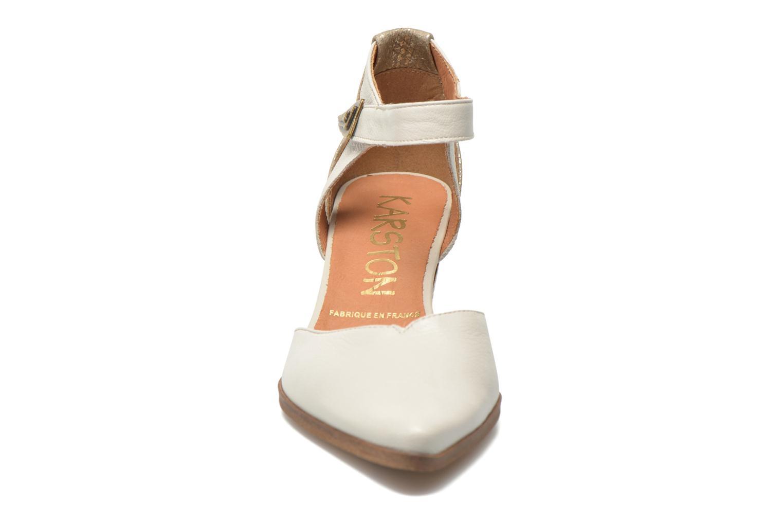 Høje hæle Karston Kzapo Beige se skoene på