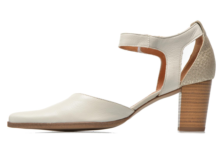 Zapatos de tacón Karston Kzapo Beige vista de frente