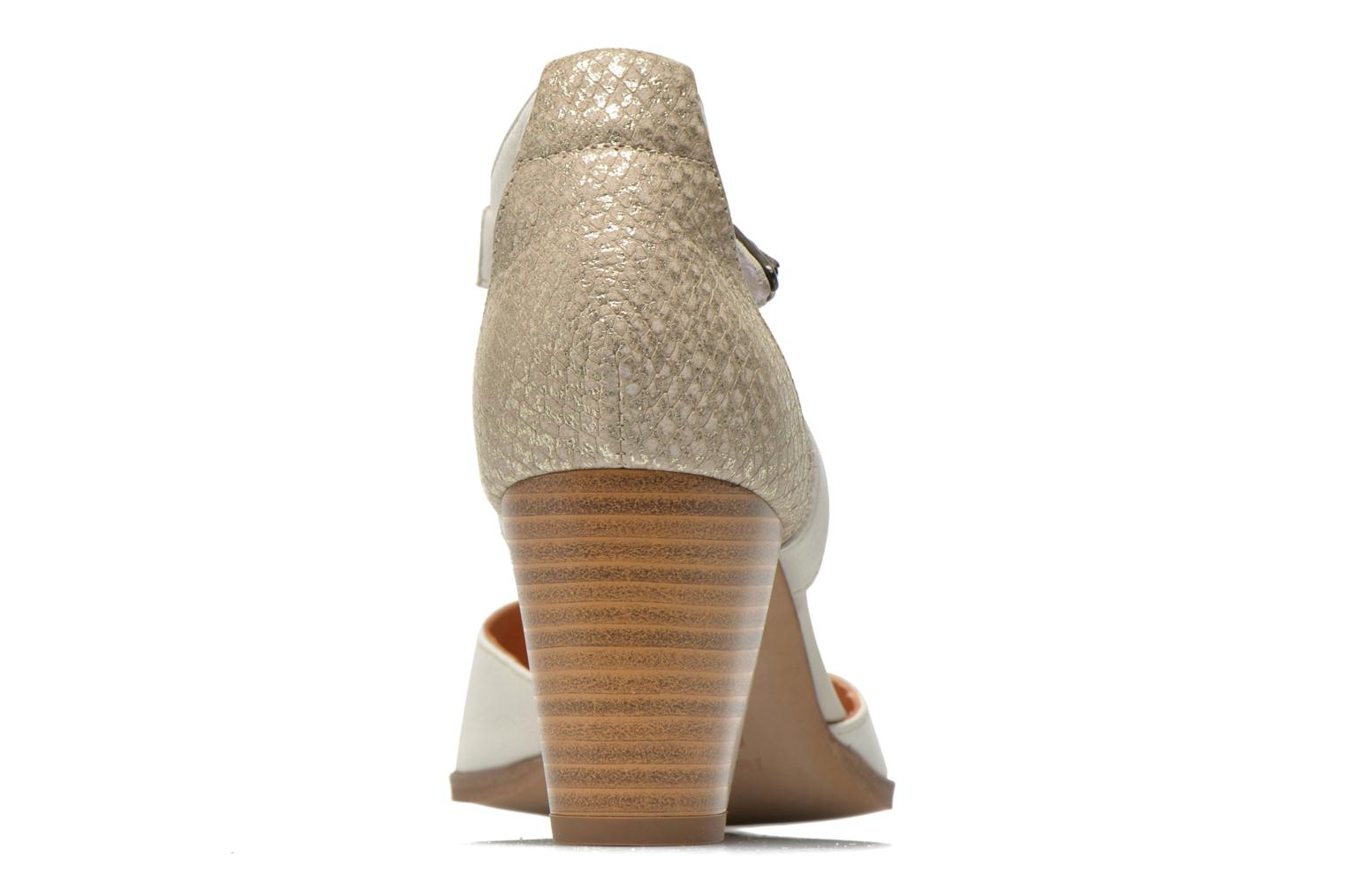 High heels Karston Kzapo Beige view from the right
