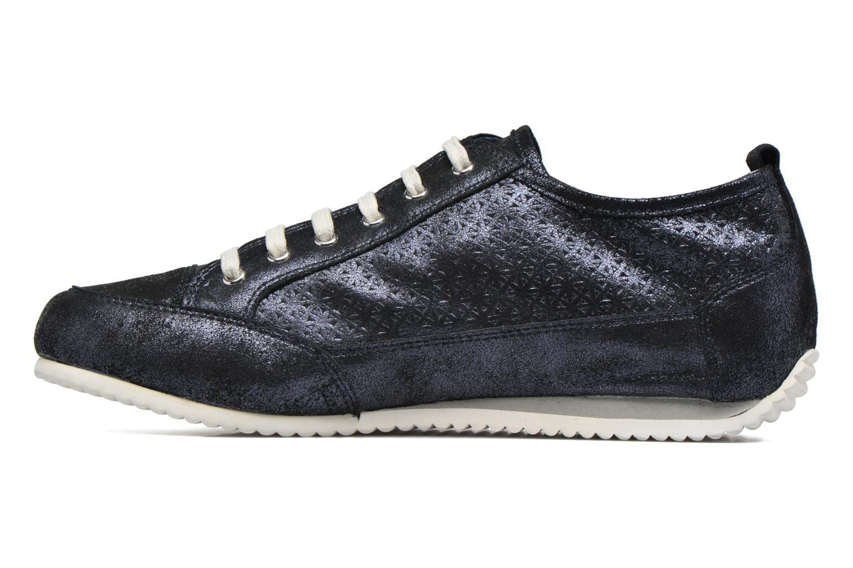 Sneakers Karston Cacao Blauw voorkant