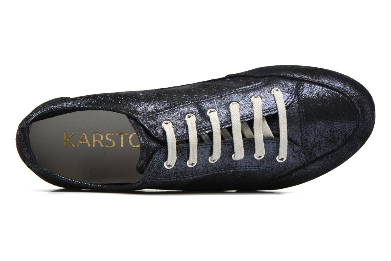 Sneakers Karston Cacao Blauw links