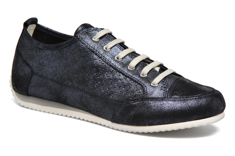 Sneakers Karston Cacao Blauw detail