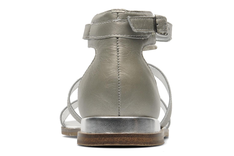 Sandali e scarpe aperte Karston Soie Argento immagine destra
