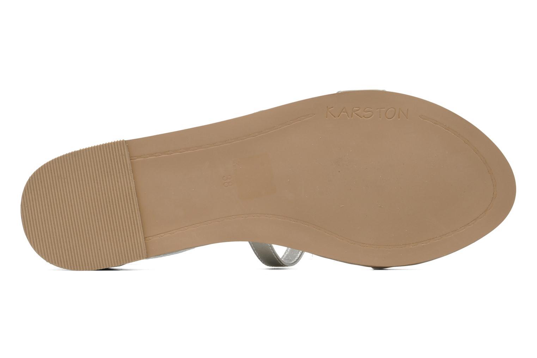 Sandali e scarpe aperte Karston Soie Argento immagine dall'alto