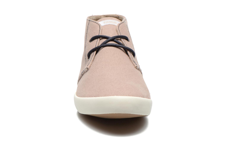 Sneaker Faguo Oleaster M beige schuhe getragen