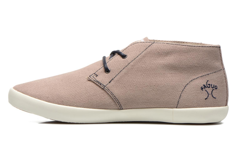 Sneaker Faguo Oleaster M beige ansicht von vorne