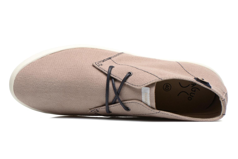 Sneaker Faguo Oleaster M beige ansicht von links