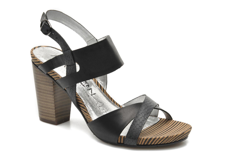 Sandales et nu-pieds Madison Rocal Noir vue détail/paire