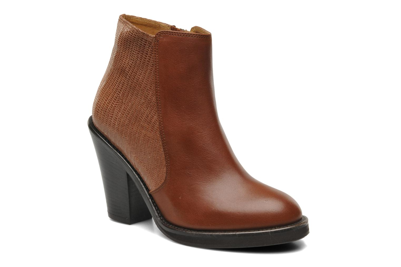Bottines et boots Jonak Dimora Marron vue détail/paire