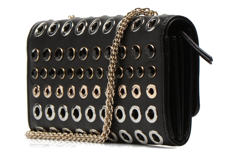 Mini Bags Sonia Rykiel DOMINO Pochette Compagnon schwarz ansicht von rechts