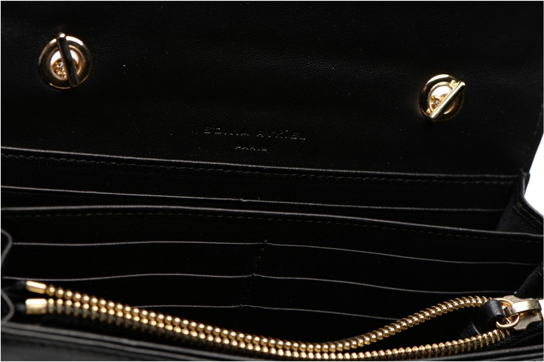 Mini Bags Sonia Rykiel DOMINO Pochette Compagnon schwarz ansicht von hinten