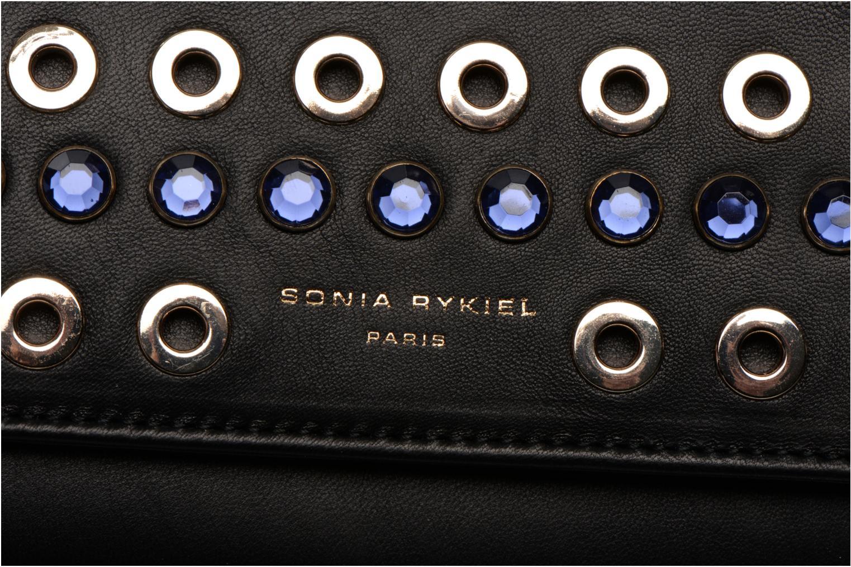 Mini Bags Sonia Rykiel DOMINO Pochette Compagnon schwarz ansicht von links