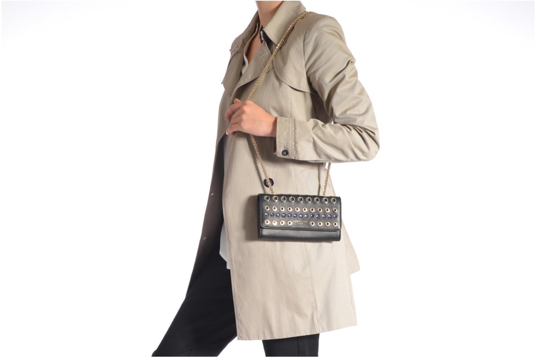 Mini Bags Sonia Rykiel DOMINO Pochette Compagnon schwarz ansicht von oben