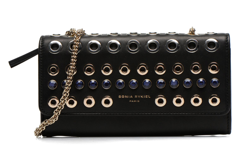 Mini Bags Sonia Rykiel DOMINO Pochette Compagnon schwarz detaillierte ansicht/modell